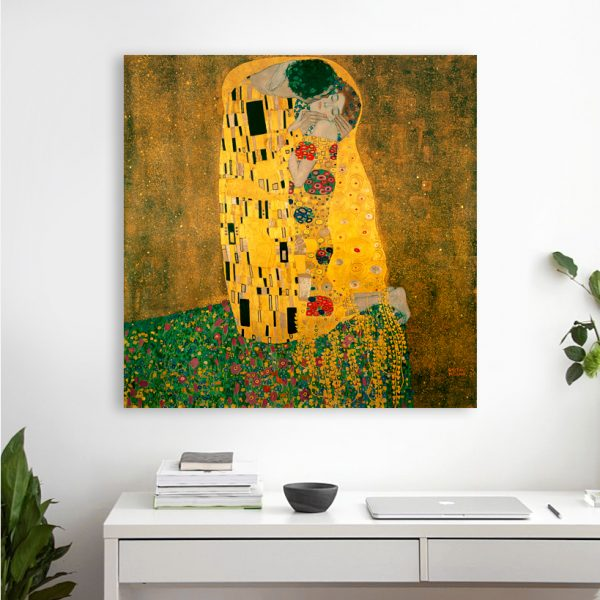 Gustav Klimt poceluy